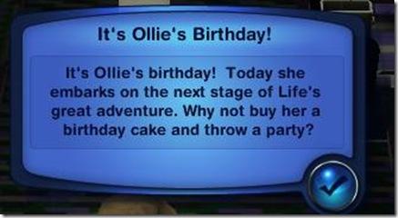 One little birthday